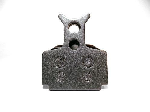 Formula The One - Aluminium backed semi-metallic pads