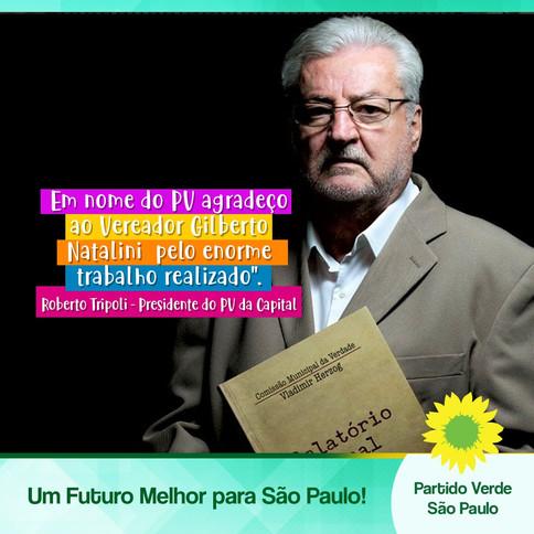 Nota do Partido Verde de São Paulo