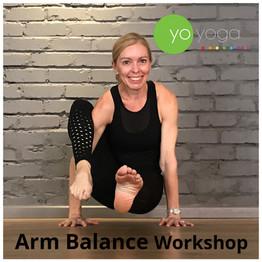 Arm Balance Workshop