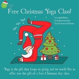 Free Christmas Day Yoga