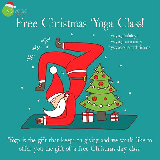 Free Christmas Day Yoga