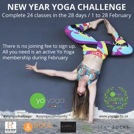 New Years Yoga Challange