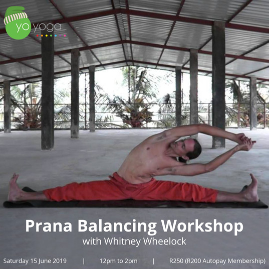 Prana Balancing Workshop