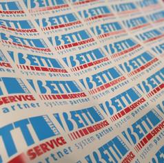 Etichette stampate