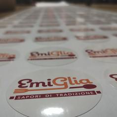 Etichette stampate resistenti a bassa temperatura