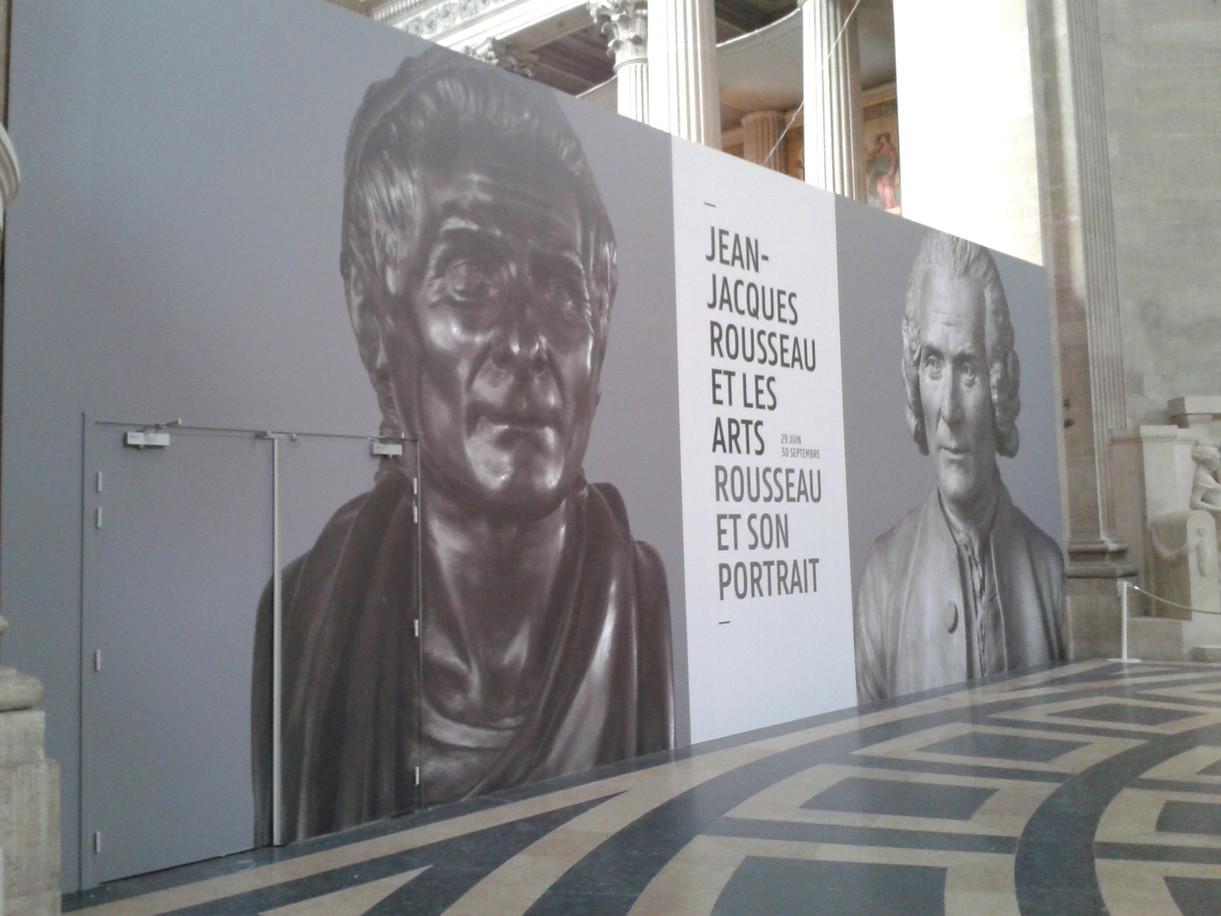 Exposition Rousseau Panthéon