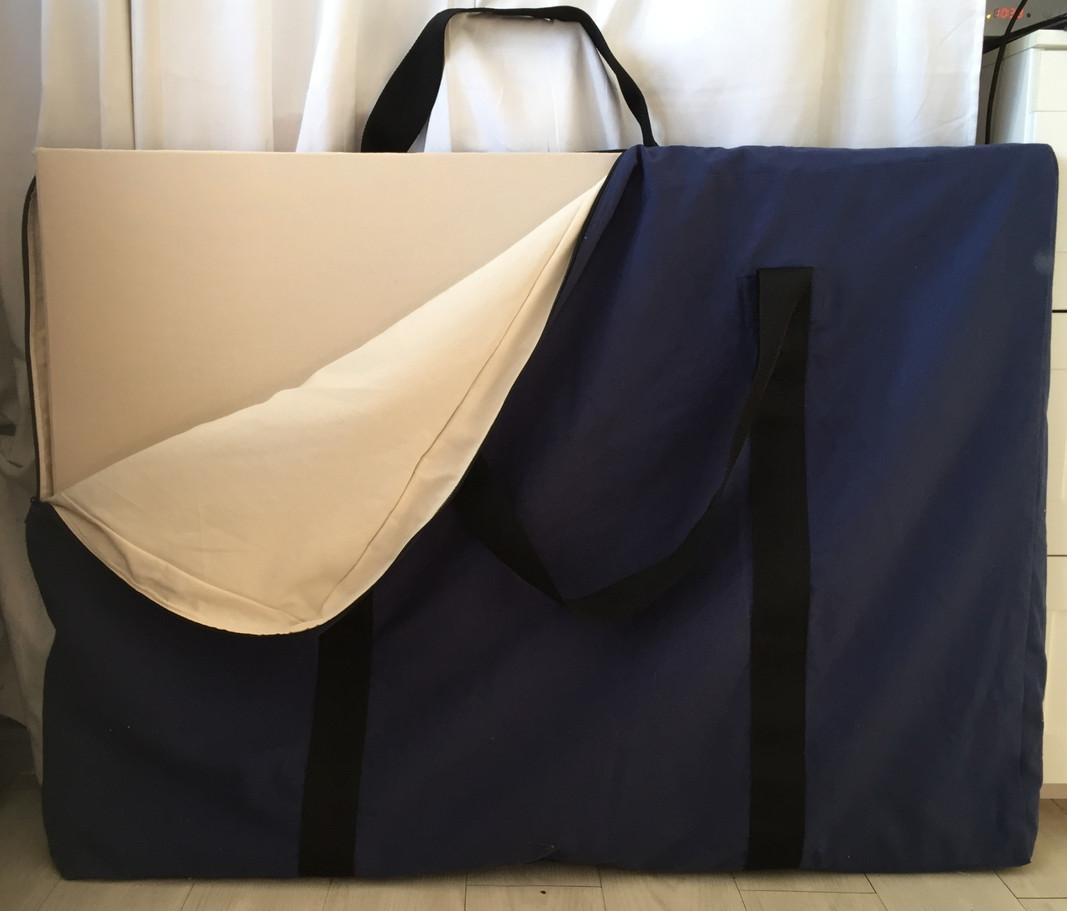 sac de transport intérieur écru