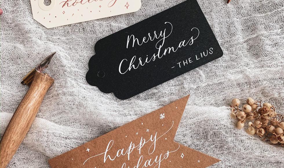 christmas gift tag calligraphy.JPG