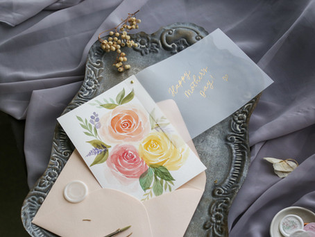 How to Do Watercolor Roses & Gold Foiling (+ Free Download!) [VIDEO]