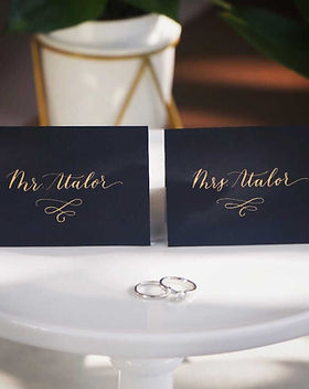 place cards calligraphy bay area.jpg