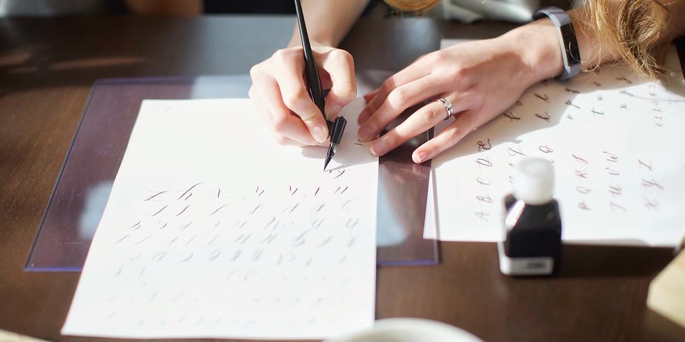 Modern Calligraphy Workshop | July 27