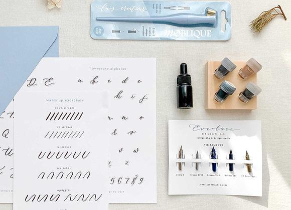 Premium Calligraphy Starter Kit + Online Course