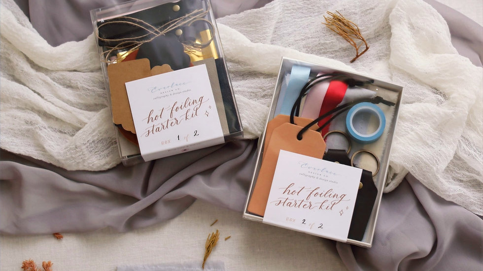 Premium Hot Foiling Kit + Online Course
