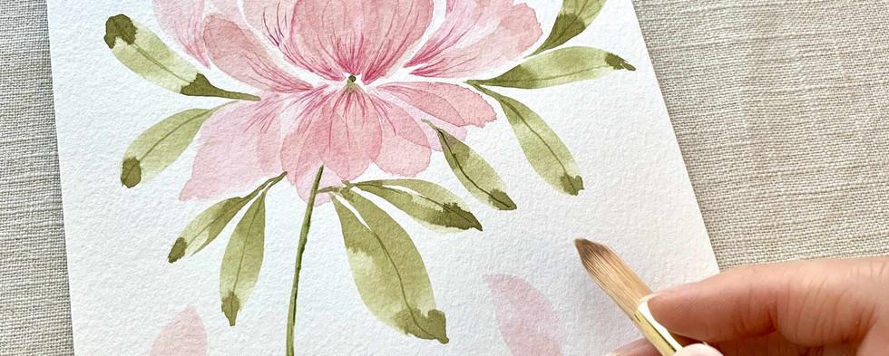 watercolor flower class bay area.JPG