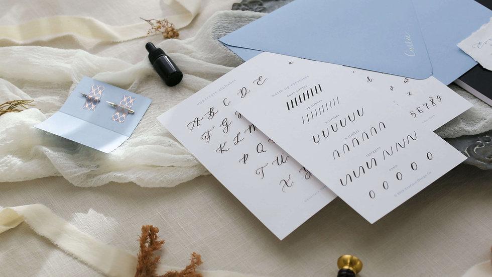 Basic Calligraphy Starter Kit