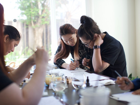 Why in-person calligraphy workshop is worth the investment?