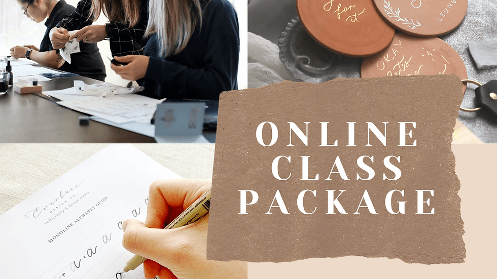 Online Class Package