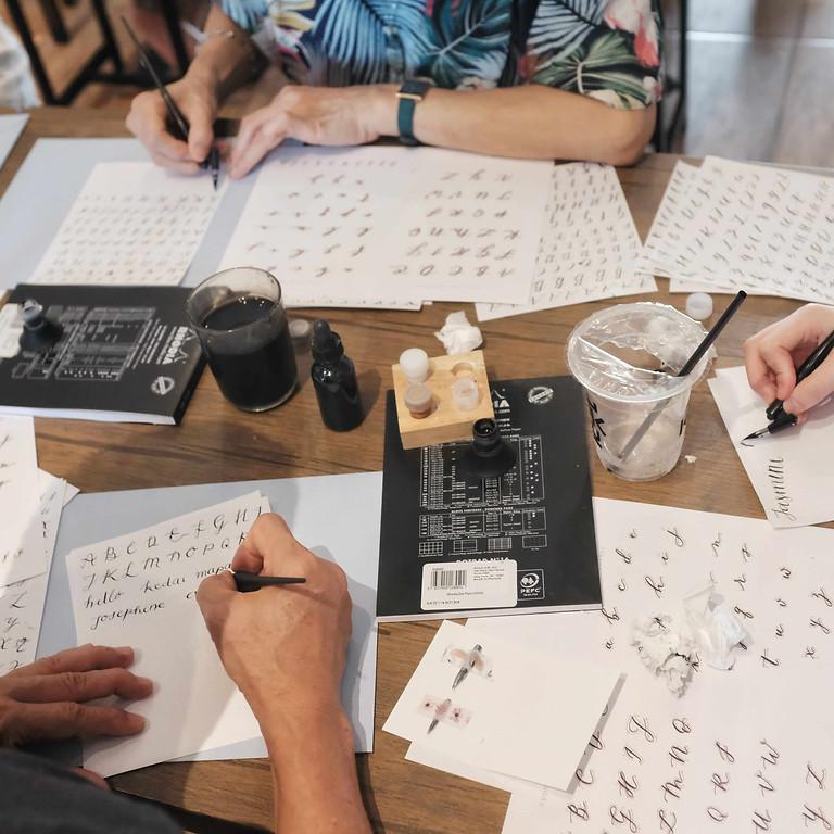 Jakarta Calligraphy Workshop
