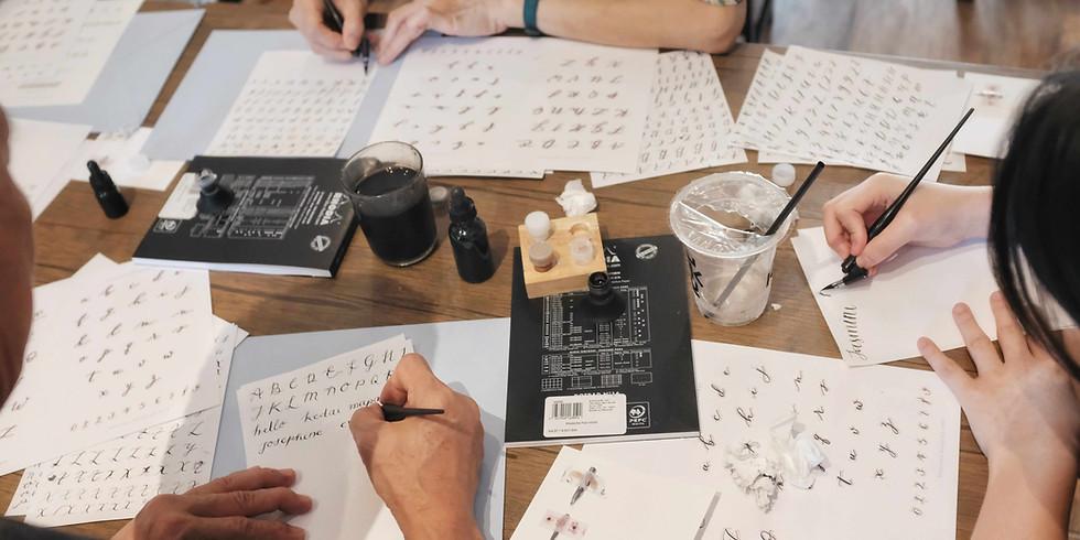 Pointed Pen Calligraphy Workshop | Jakarta
