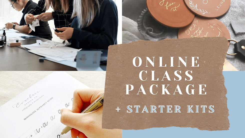 Online Class Package with Kits