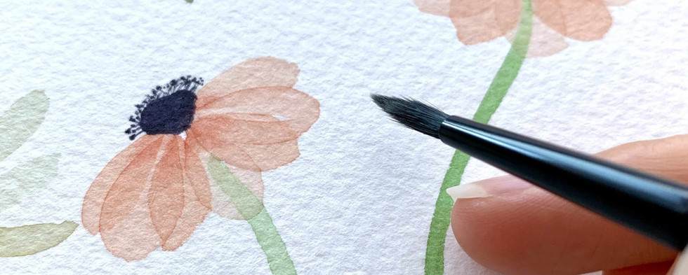 floral watercolor class near me poppy.JPG
