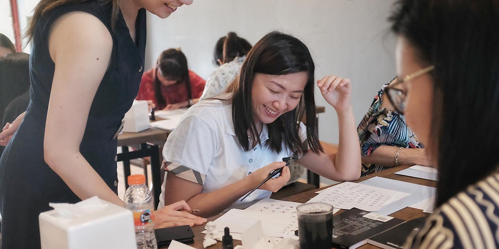 Lombok Calligraphy Workshop