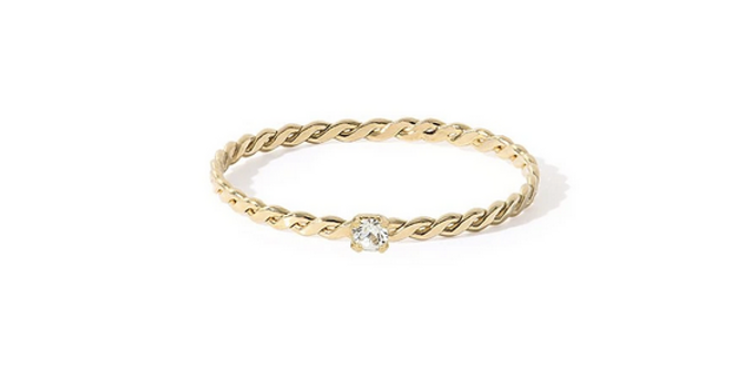 Bague Olympe strass
