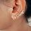 Thumbnail: Boucles d'oreilles chainettes