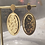 Thumbnail: Boucles d'oreilles pendantes ovales