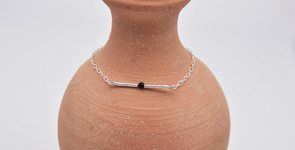 Bracelet perle noire