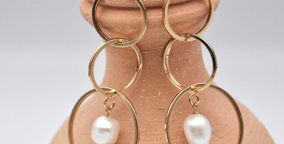 Boucles d'oreilles cercles