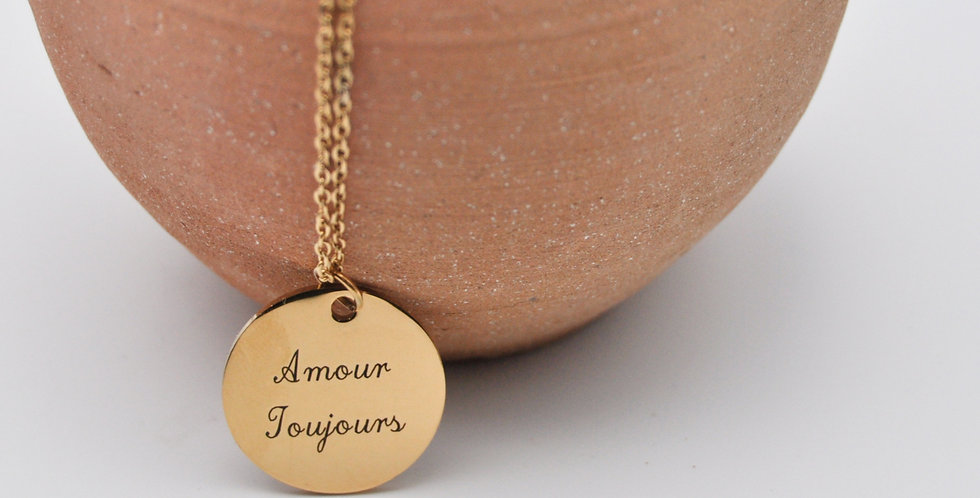 Médaille Amour toujours