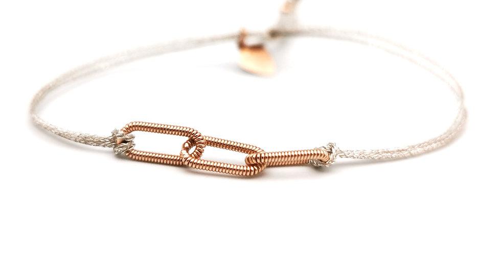 Bracelet 3 mini ovales