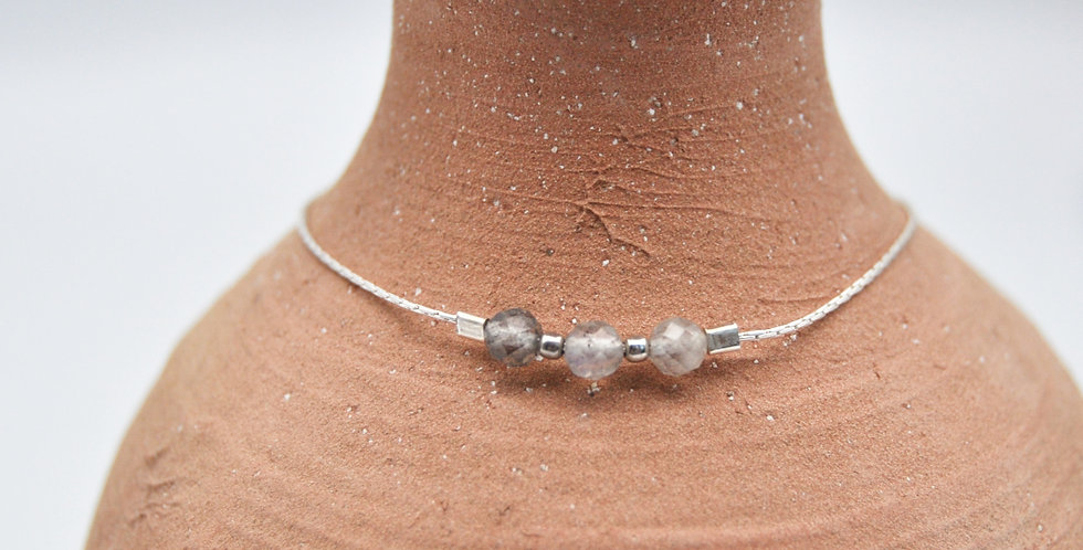 Bracelet Cardoso 3 pierres