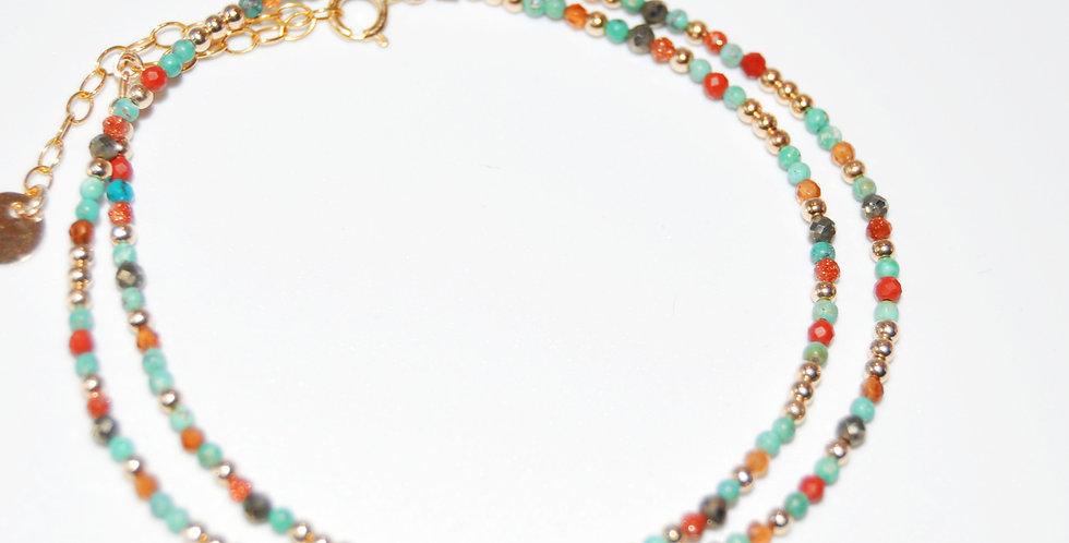 Bracelet Queen double