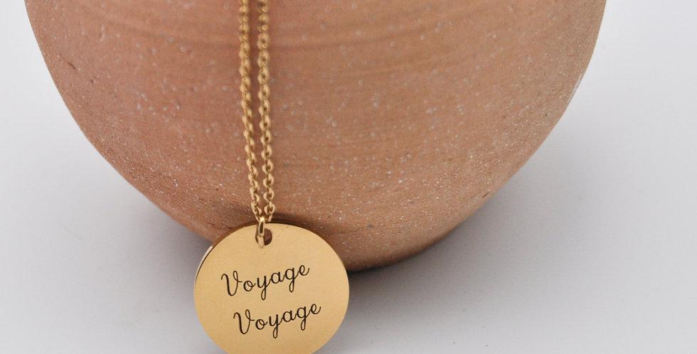Médaille Voyage voyage