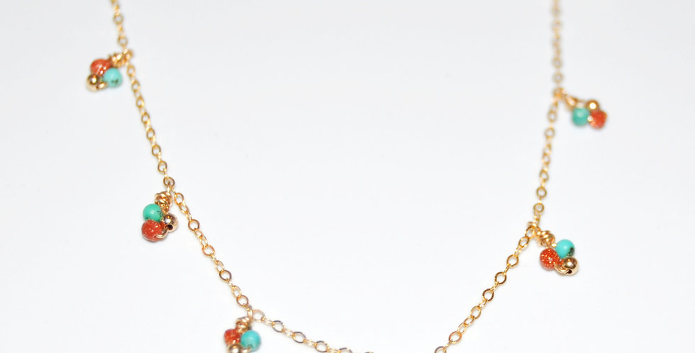 Collier Grelots pampilles