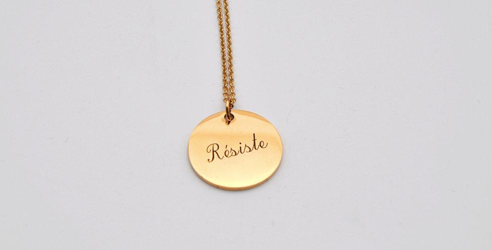 Médaille Résiste