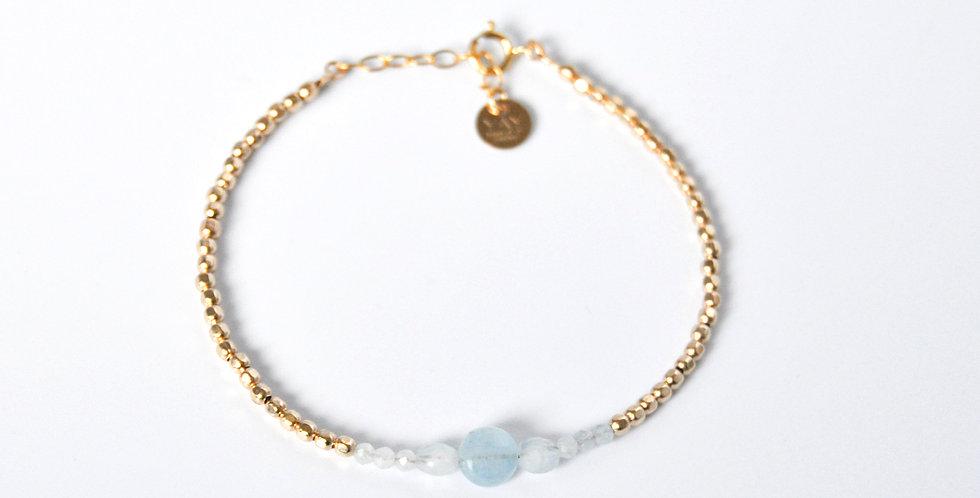 Bracelet Queen bouton