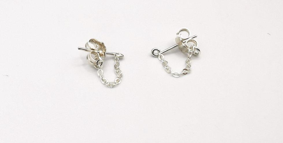 Boucles d'oreilles chainettes