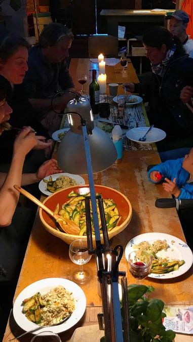 Dinner by Zinu Kim tonight and project and talk by Fernanda Ortiz!