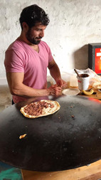 """Syrian """"pizza"""" treats This Red Door!"""