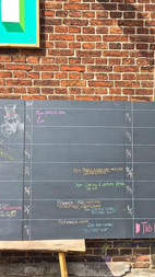 """Calendar is up at the wonderful """"Institute for (X)"""" in Aarhus"""