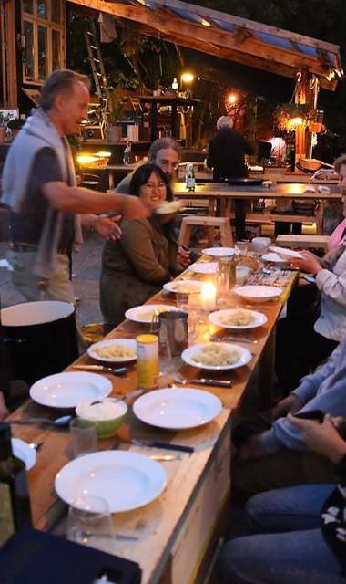Welcome/opening dinner in Aarhus at Institut for (X)
