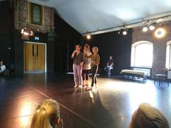Dansimprovisation på Öppet Hus 2019
