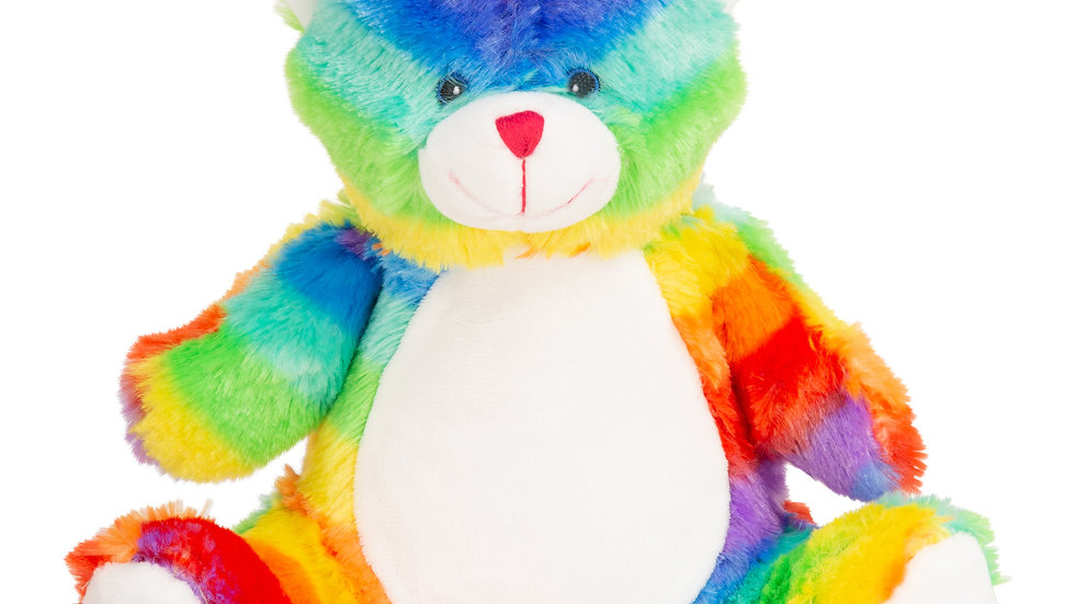 Mumbles Mini rainbow bear 28cm
