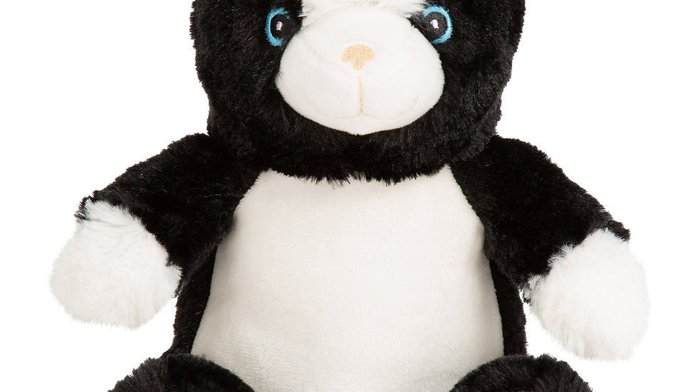 PRE ORDER Mumbles Black and White Cat