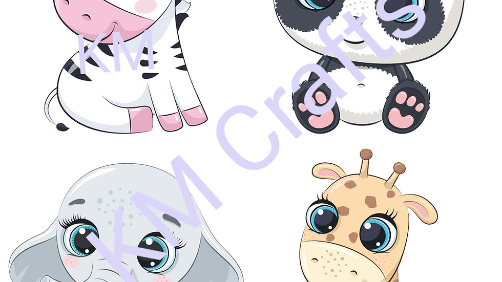 Animal sticker sheets