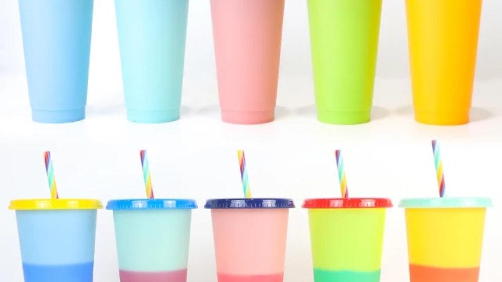 Colour Change cups
