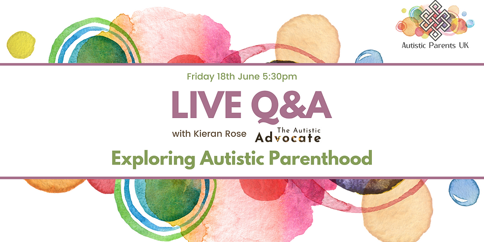 Exploring Autistic Parenthood with Kieran Rose